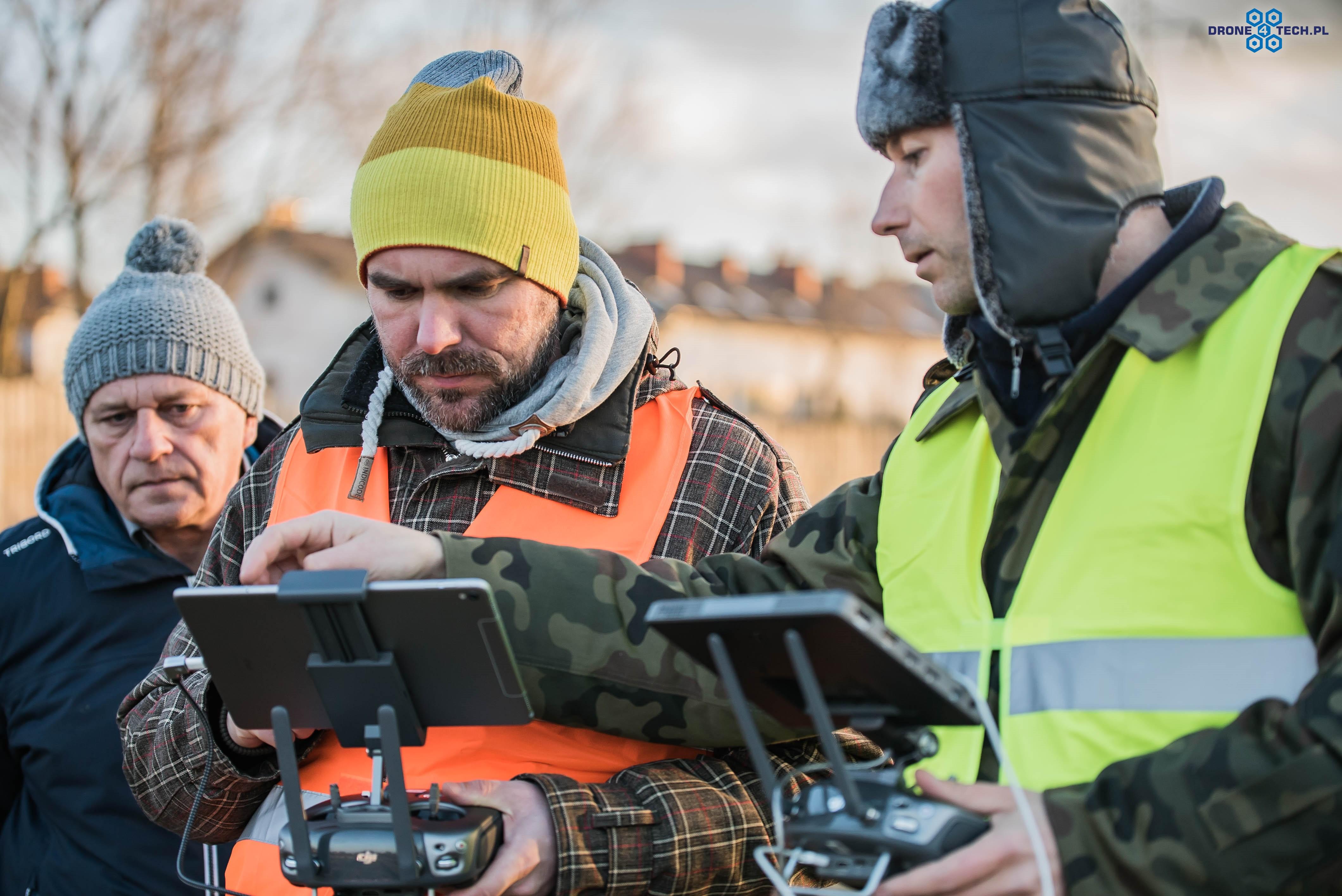 Profesjonalne szkolenia na drony